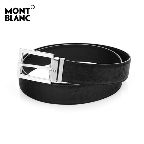 [몽블랑 MONTBLANC] 114435 / 웨스트사이드 블랙 벨트