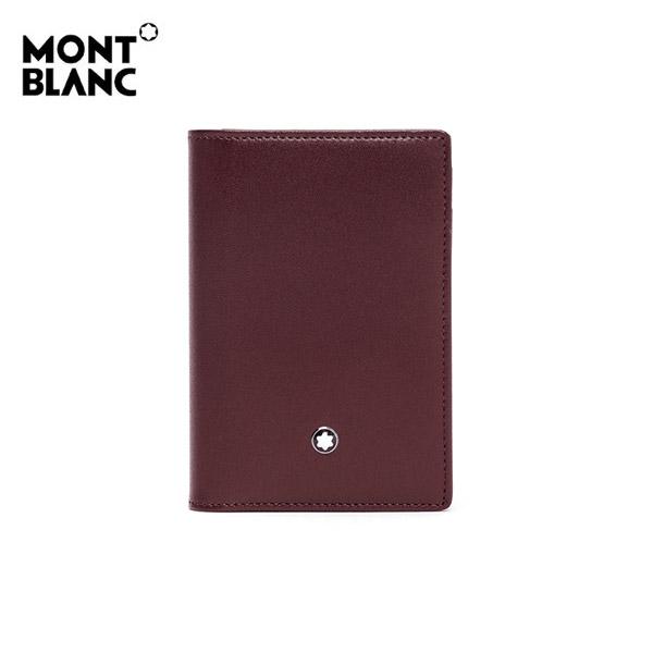 얼마줬스-) [몽블랑 MONTBLANC] 114555 / 마이스터스튁 그레인 명함 카드지갑