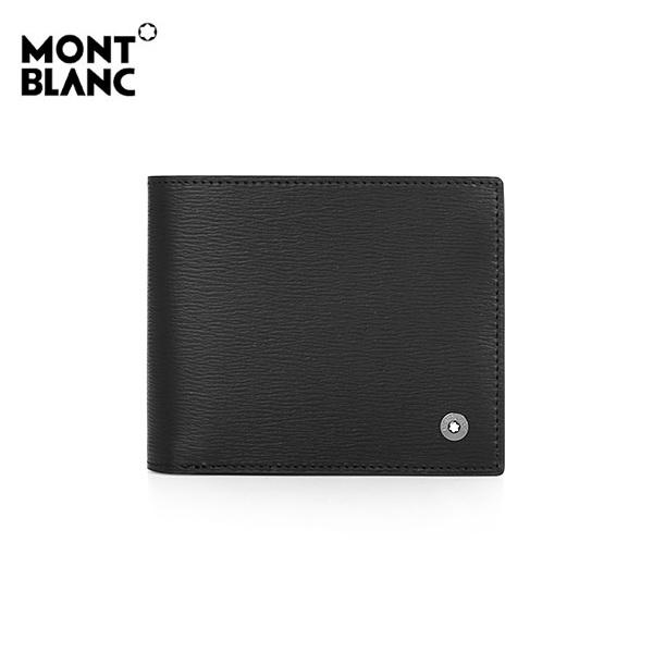 [몽블랑 MONTBLANC] 114687 / 웨스트사이드 6CC 머니클립 (101867 신형)