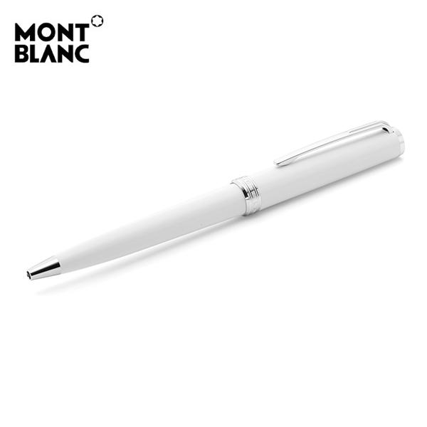 [몽블랑 MONTBLANC] 114806 / 픽스 화이트 볼펜
