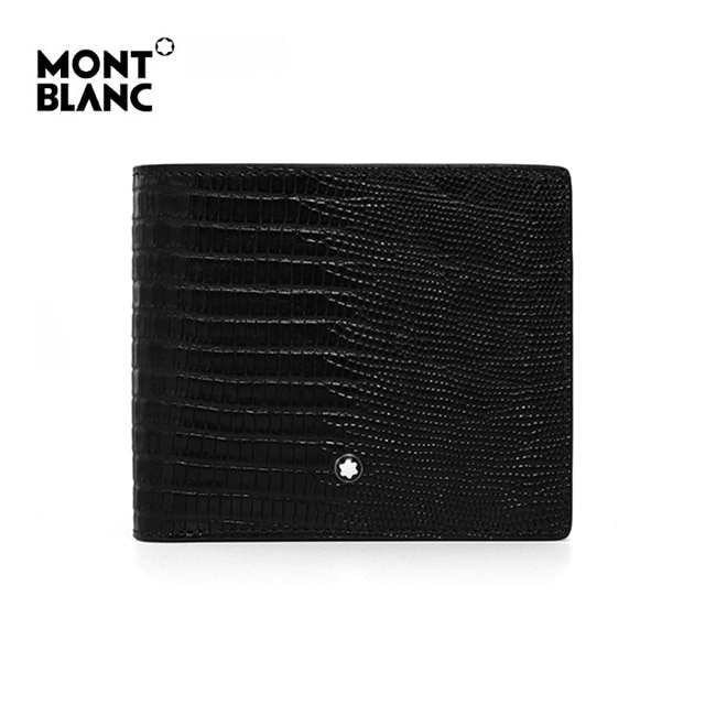 [몽블랑 MONTBLANC] 116290 / 마이스터스튁 셀렉션 리자드 8cc 반지갑