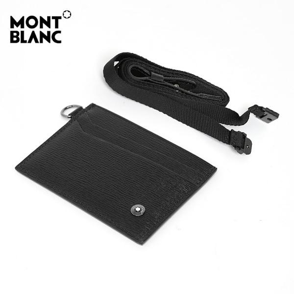 ☆-) [몽블랑 MONTBLANC] 116391 / 사토리얼 2CC 뷰 포켓 ID 카드지갑