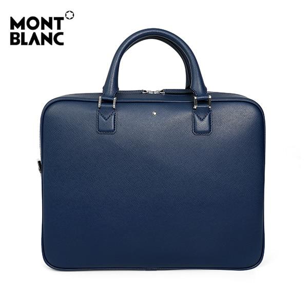 [몽블랑 MONTBLANC] 116757 / 사토리얼 슬림 인디고 서류가방