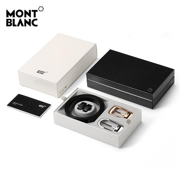 신년맞이-) [몽블랑 MONTBLANC] 116853 / 벨트 기프트 세트 양면벨트