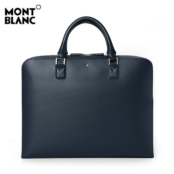 [몽블랑 MONTBLANC] 118288 / 마이스터스튁 울트라 슬림 서류가방(네이비) 타임메카