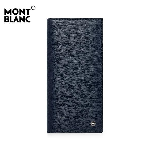 [몽블랑 MONTBLANC] 118659 / 4810 웨스트사이드 6cc 지퍼 포켓 장지갑