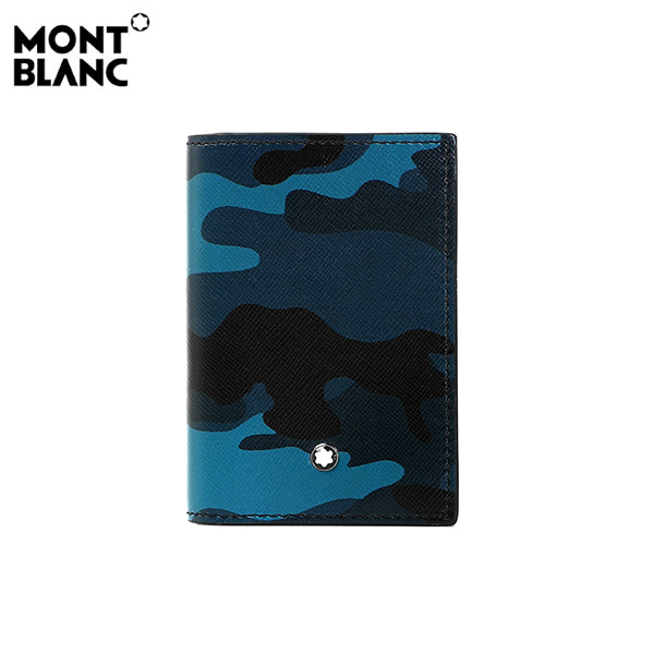 [몽블랑 MONTBLANC] 118686 / 카모플라쥬 사토리얼 명함 지갑