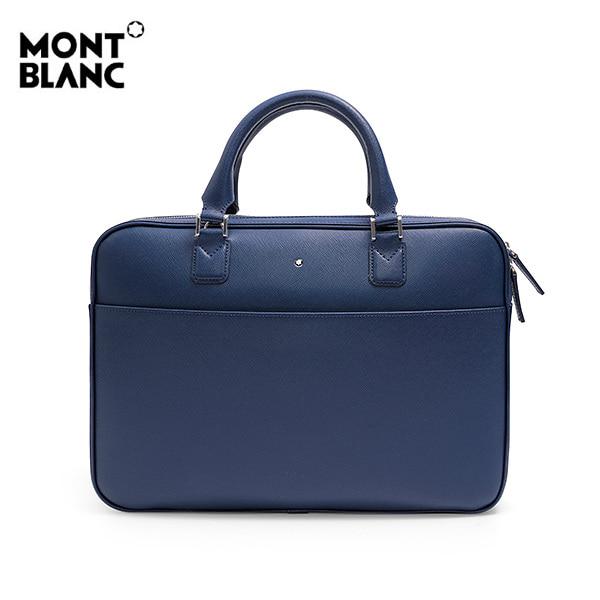 [몽블랑 MONTBLANC] 118690 / 사토리얼 울트라 슬림 서류가방(네이비) 타임메카