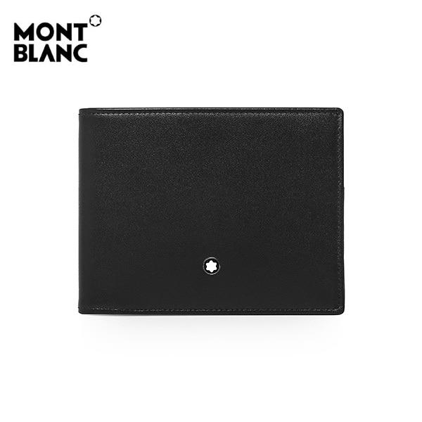 [몽블랑 MONTBLANC] 125717 / 마이스터스튁 투톤 6cc 반지갑 타임메카