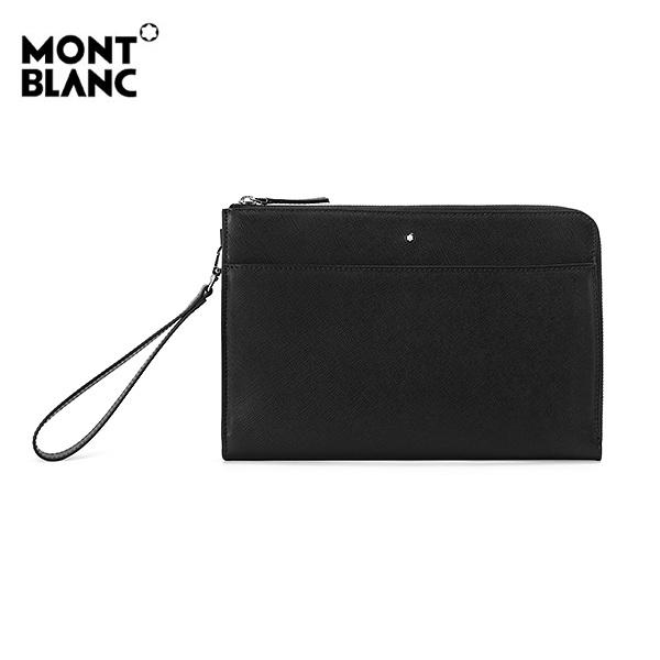 [몽블랑 MONTBLANC] 126062 / 사토리얼 미디움 파우치 클러치백(블랙) 타임메카