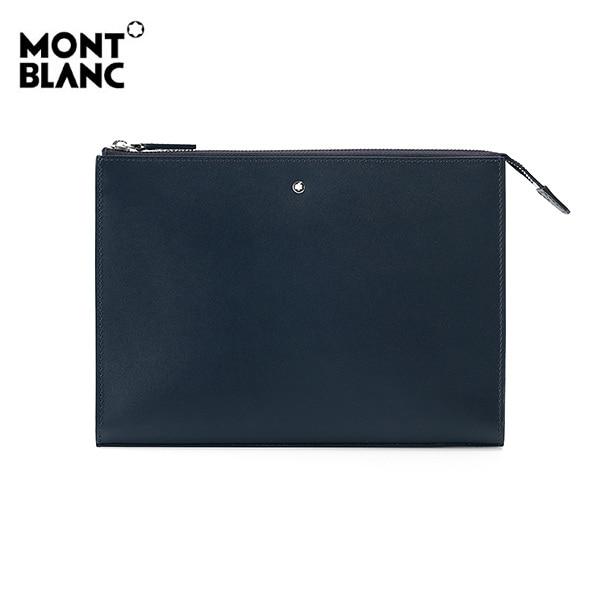 [몽블랑 MONTBLANC] 126067 / 마이스터스튁 클러치백(네이비) 타임메카