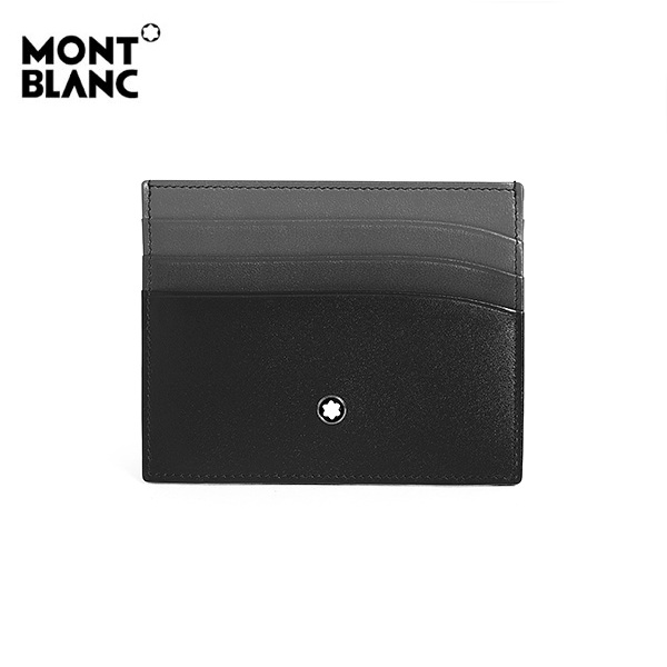 [몽블랑 MONTBLANC] 126212 / 마이스터스튁 Meisterstueck 6cc 공용 명함 겸 카드지갑 블랙 타임메카