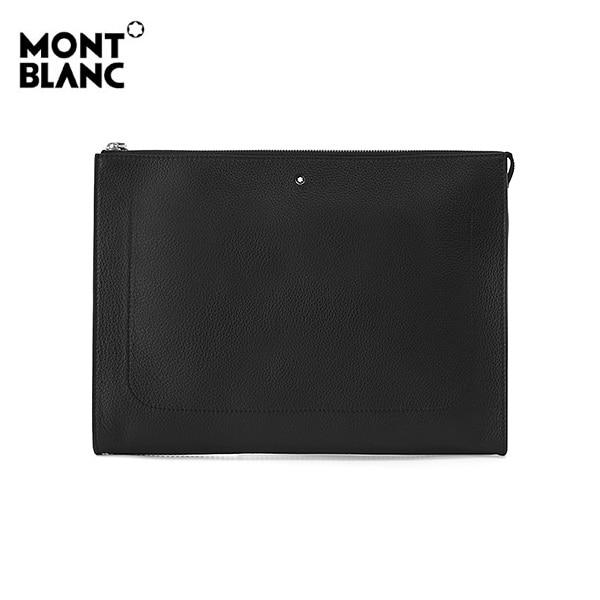[몽블랑 MONTBLANC] 126231 / 마이스터스튁 소프트 그레인 포트폴리오 클러치백 타임메카