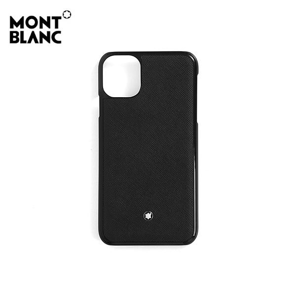 [몽블랑 MONTBLANC] 127058 / 사토리얼 아이폰 11 공용 핸드폰케이스 블랙 타임메카