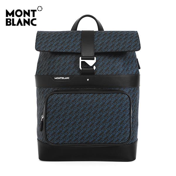 [몽블랑 MONTBLANC] 127423 / M_Gram 4810 플립 남성 백팩 블루 타임메카