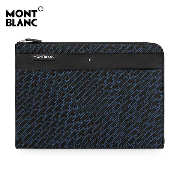 [몽블랑 MONTBLANC] 127429 / M_Gram 4810 포트폴리오 남성 클러치백 블루 타임메카