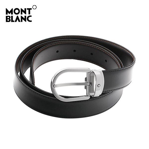 신년맞이-) [몽블랑 MONTBLANC] 38157 하정우 벨트 / BLACK&BROWN 클래식 양면벨트