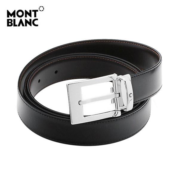 [몽블랑 MONTBLANC] 9774 벨트 / BLACK&BROWN 클래식 양면벨트