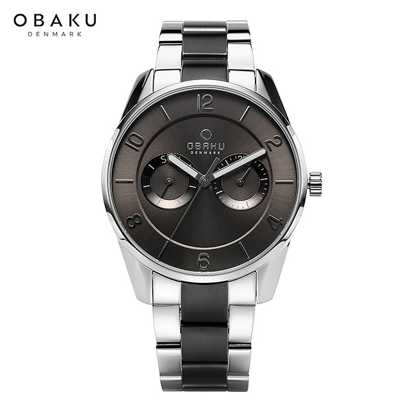 [오바쿠 OBAKU] Herning owl-FLINT STEEL-BI (V171GMCJSJ) 40mm