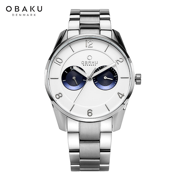 [오바쿠 OBAKU] Herning owl-FLINT BRACE (V171GMCWSC) 40mm / 민진웅,박윤재 착용 시계!
