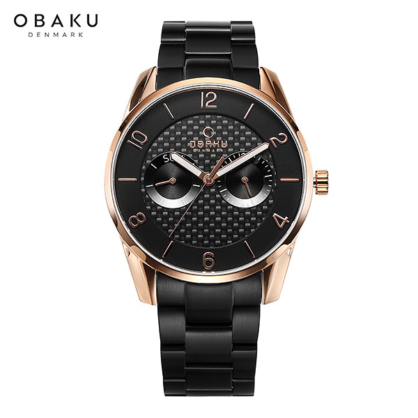 [오바쿠 OBAKU] Herning owl-FLINT INK (V171GMVBSB) 40mm