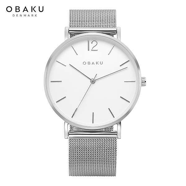 [오바쿠 OBAKU] MARK STEEL (V197GXCWMC) 40mm