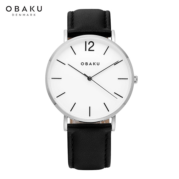[오바쿠 OBAKU] MARK BLACK (V197GXCWRB) 40mm / 유재석 시계