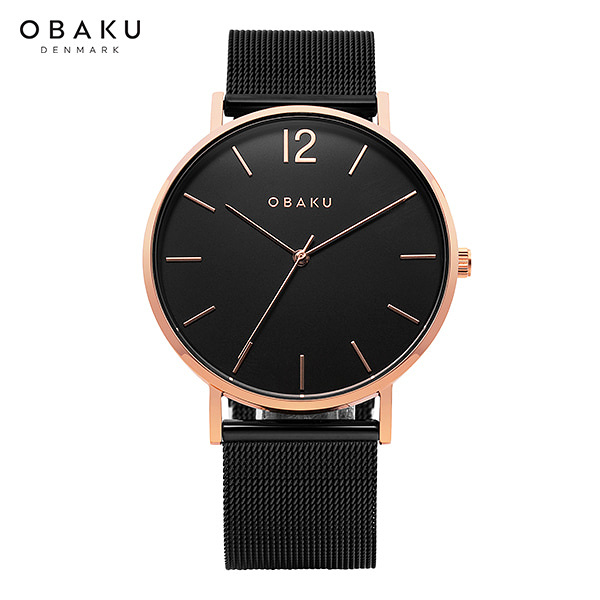 [오바쿠 OBAKU] MARK NIGHT (V197GXVBMB) 40mm