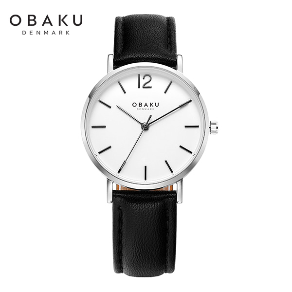 [오바쿠 OBAKU] MARK LILLE BLACK (V197LXCWRB) 32mm / 하승리 착용 시계