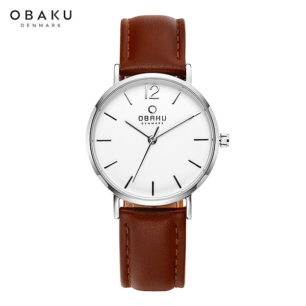 [오바쿠 OBAKU] MARK LILLE MOCHA (V197LXCWRN) 32mm / 정소민 착용 시계