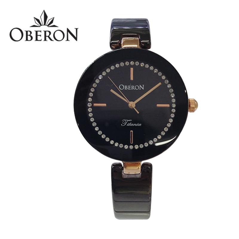 [오베론 OBERON] OB-309RGBK 여성 세라믹시계 31mm