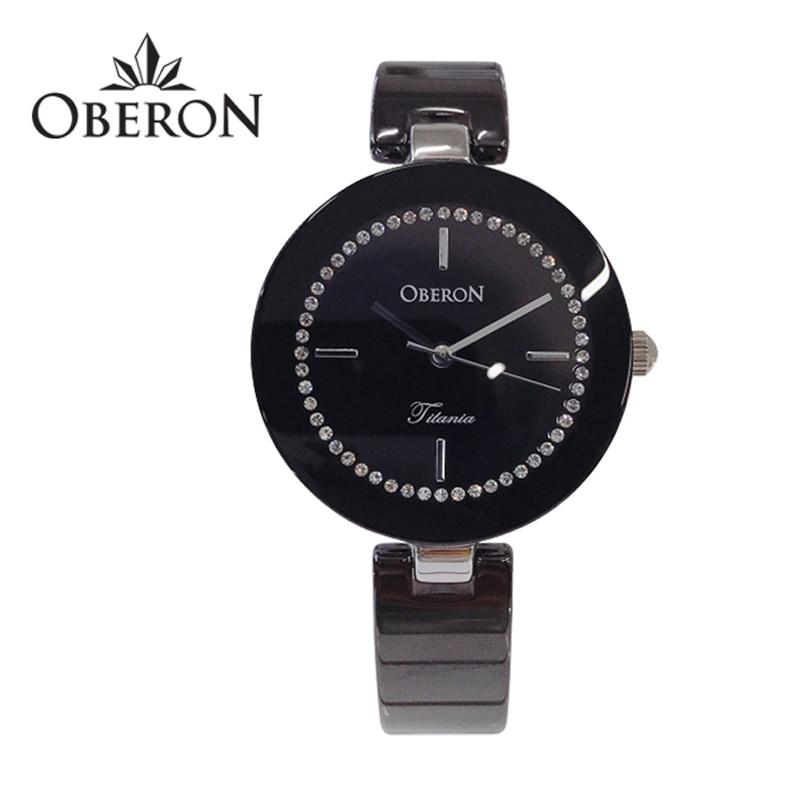 [오베론 OBERON] OB-309STBK 여성 세라믹시계 31mm