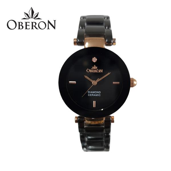 [오베론 OBERON] OB-310RGBK 여성 세라믹시계 28mm
