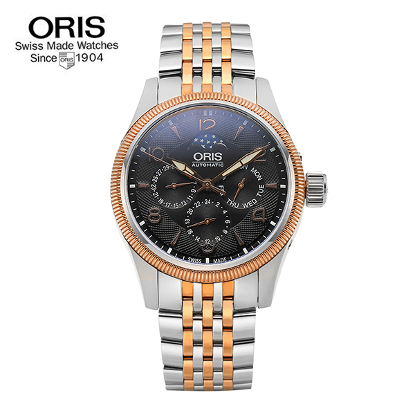 [오리스 시계 ORIS] 582 7678 4364M Big Crown Complication 40mm