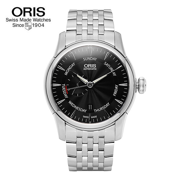 [오리스 시계 ORIS] 745 7666 4054M Small Second, Pointer Day 44mm