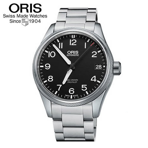 [오리스 시계 ORIS] 751 7697 4164M Big Crown ProPilot 데이트 41mm