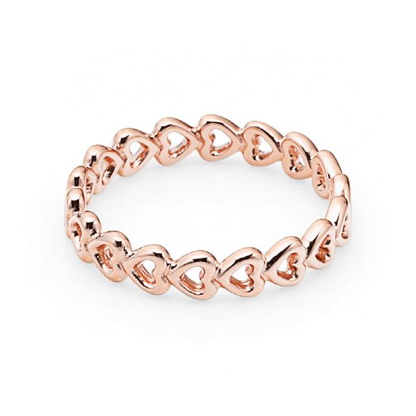 [판도라 PANDORA] 여성 판도라 반지 180177 Linked love ring