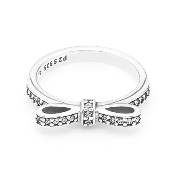 [판도라 PANDORA] 여성 판도라 반지 190906CZ Bow silver ring