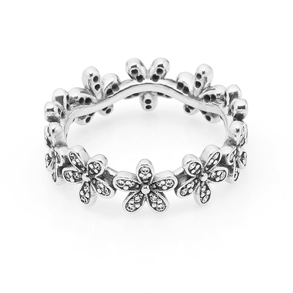[판도라 PANDORA] 여성 판도라 반지 190934CZ Daisy silver ring with cubic zirconia