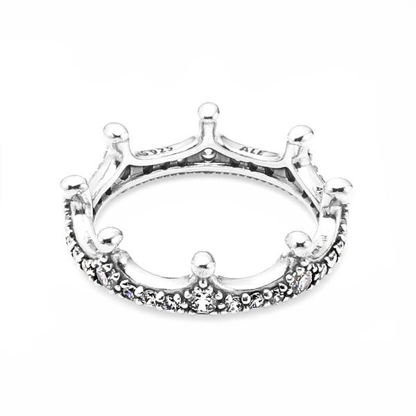 [판도라 PANDORA] 여성 판도라 왕관 반지 197087CZ Enchanted Crown Ring