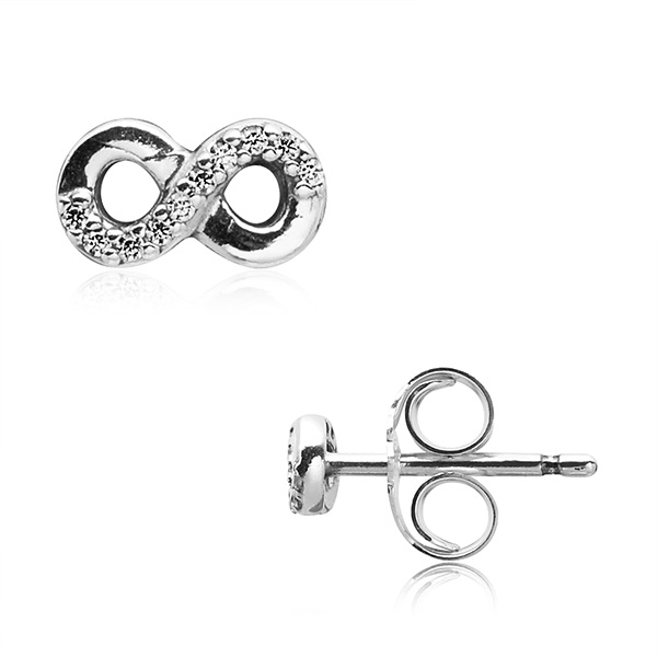 [판도라 PANDORA] 여성 판도라 귀걸이 290695CZ INFINITE LOVE STUD EARRINGS