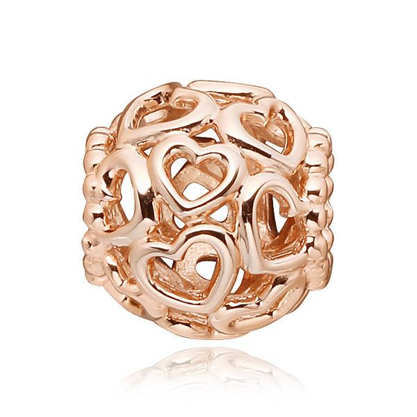 [판도라 PANDORA] 여성 판도라 참 780964 Openwork hearts PANDORA Rose charm