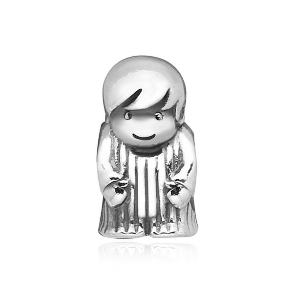 [판도라 PANDORA] 여성 판도라 참 791530 Boy Silver Charm