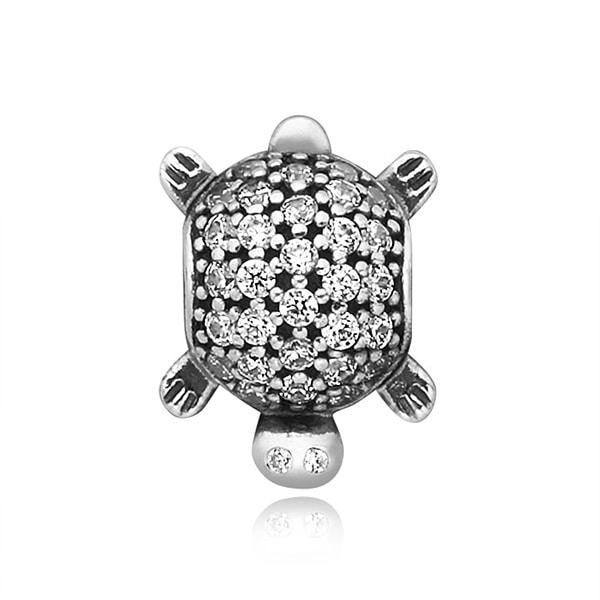 [판도라 PANDORA] 여성 판도라 참 791538CZ Turtle Silver Charm