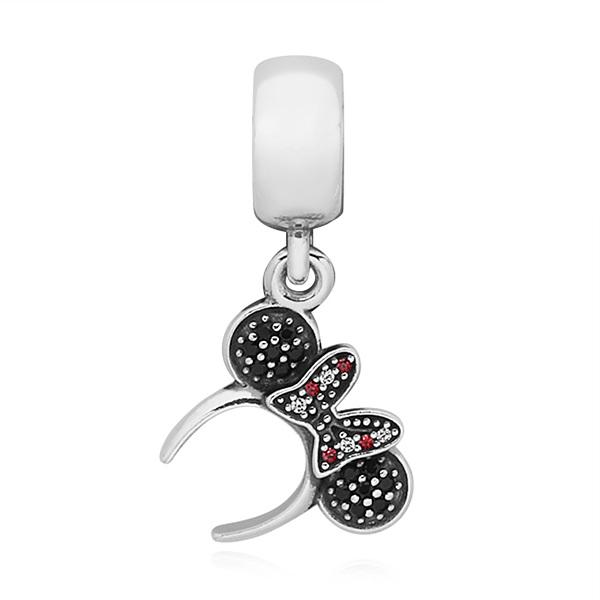 [판도라 PANDORA] 여성 판도라 펜던트 겸 댕글 참 791562NCK Disney Minnie headband silver dangle
