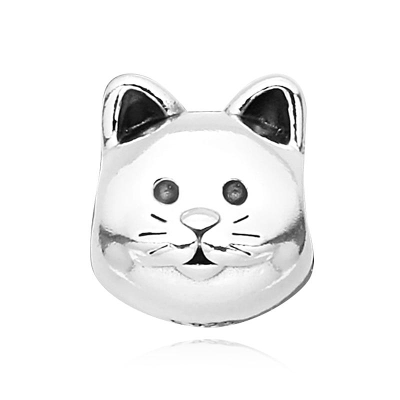 [판도라 PANDORA] 여성 판도라 참 791706 CAT SILVER CHARM 고양이 실버 참