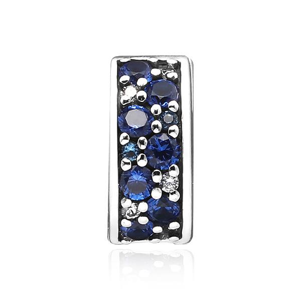 [판도라 PANDORA] 여성 판도라 클립 참 791817NSBMX Blue Mosaic Shining Elegance Spacer Clip