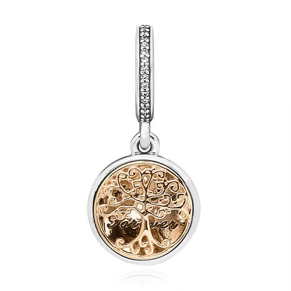 [판도라 PANDORA] 여성 판도라 참 791974NPRMX Shimmering Medallion Charm