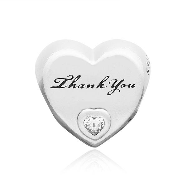 [판도라 PANDORA] 여성 판도라 참 792096CZ Thank You Heart