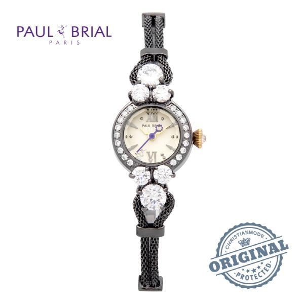 [폴브리알시계 PAULBRIAL] PB8001BK 여성용 팔찌시계
